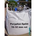 Splitt 16 - 32 mm - Porphyr - rot - BIG BAG - ca. 0,5m³ - ca.850kg